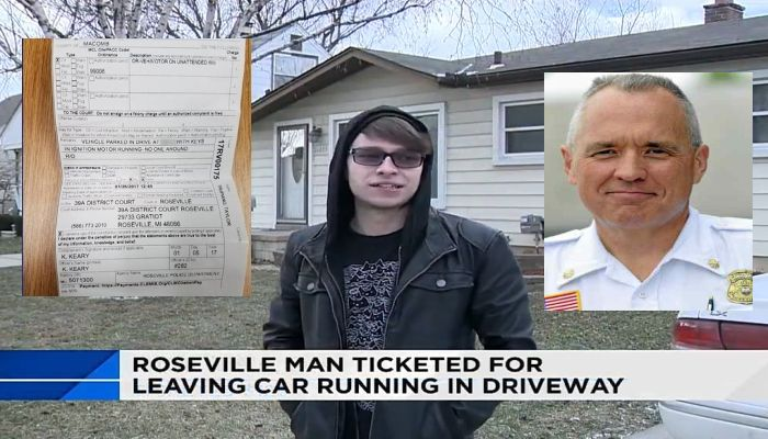 "Cop Tickets Man For Warming Up His Car, Then Police Chief Tells Him to ""Drop Dead"" [VIDEO]"