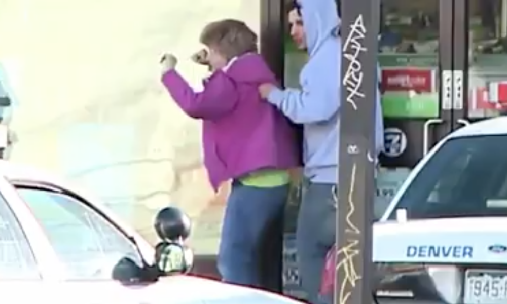 Police Sniper Takes Out Thug Using Elderly Woman As Human Shield [VIDEO]