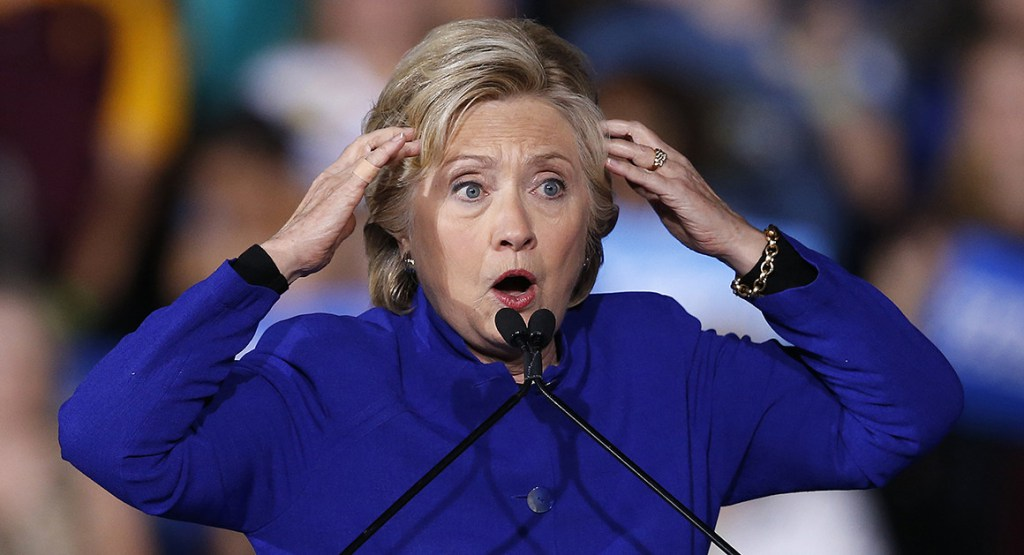 Delusional Hillary Stumbles Out In Public Insisting She Should've Been President, Then Everyone Sees What's In Her Coat!