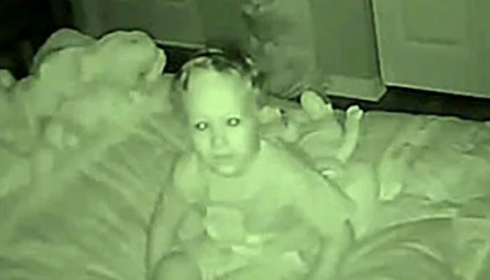 Toddler Tells His Parents He Hears A Stranger Every Night, Then They Setup A Camera