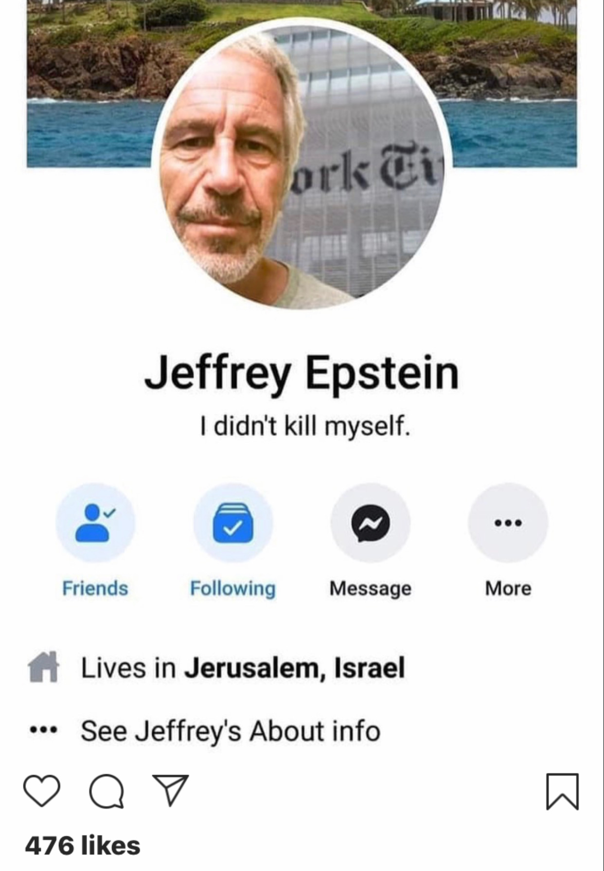 10 Memes For Everyone Who Knows Jeffrey Epstein Didn't Kill Himself
