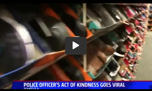 Officer Breaks Down In Tears After Discovering What Woman Was Searching For Between Cars
