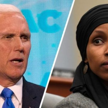 VP PENCE LAID DOWN THE LAW ON CONGRESS , CALLS FOR ILHAN OMAR'S REMOVAL FROM POWERFUL COMMITTEE