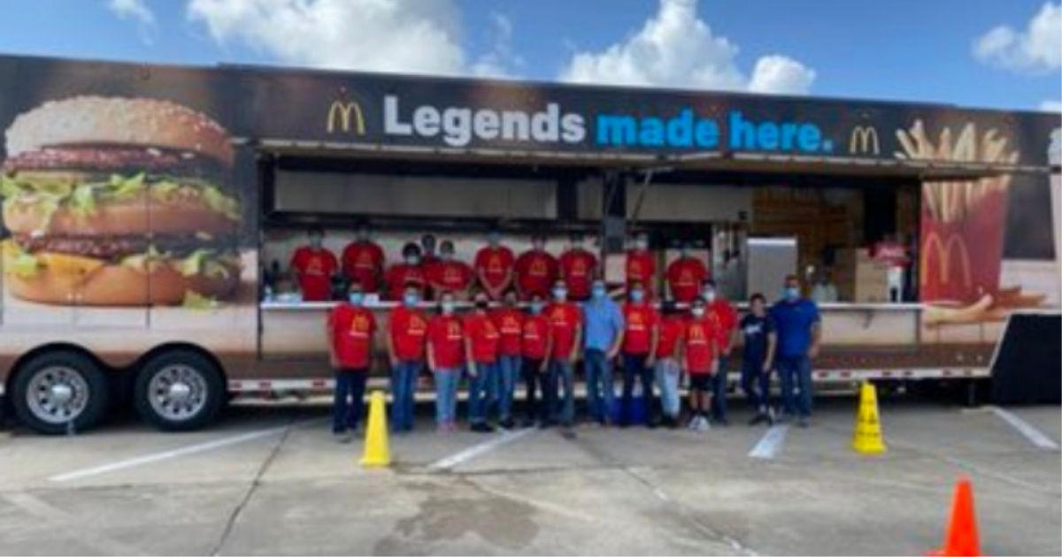 What One McDonald's Owner Did After Hurricane Laura Will Make Your Heart Sing!