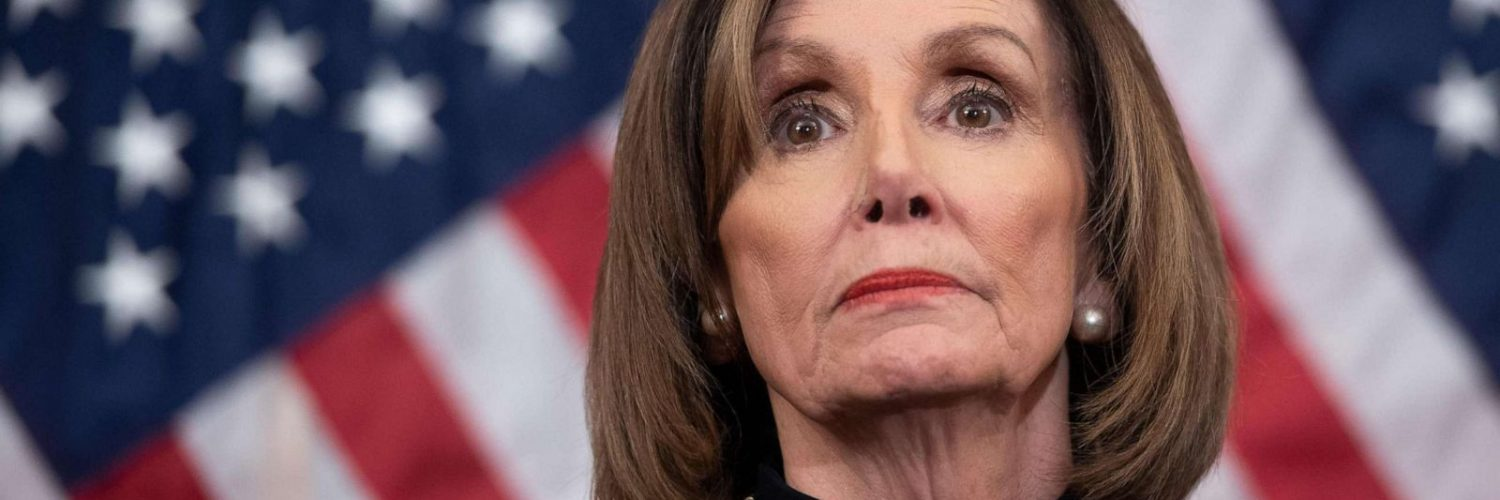 BAD NEWS For Wacky Nancy! Trump Has Her Now!