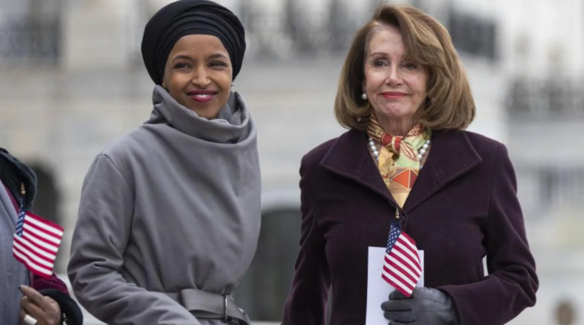 Pelosi Has Been Caught Bending Over Backwards To Protect Hateful Omar!